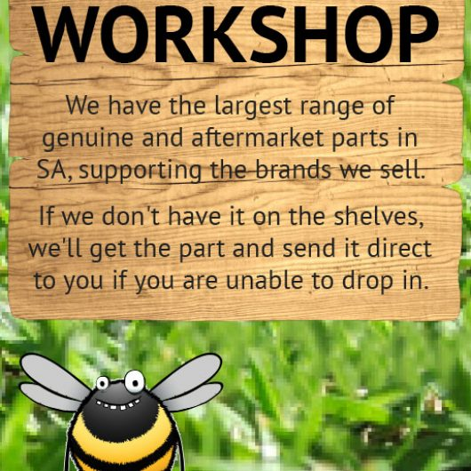 Parts and Service Workshop